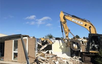 Demolition Commences