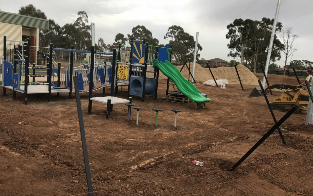 New Playground Installation