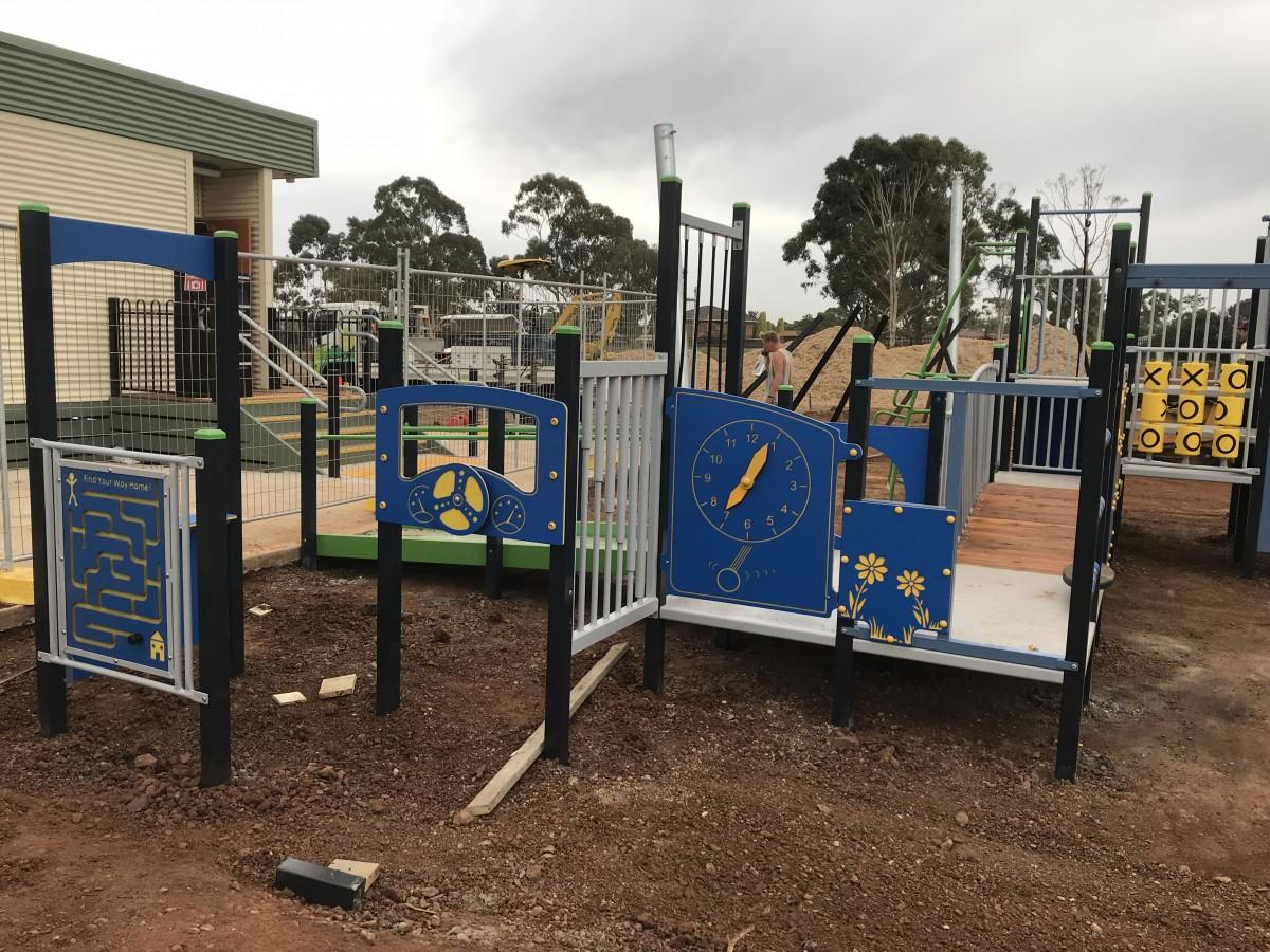 New Playground Installation Melton Specialist School