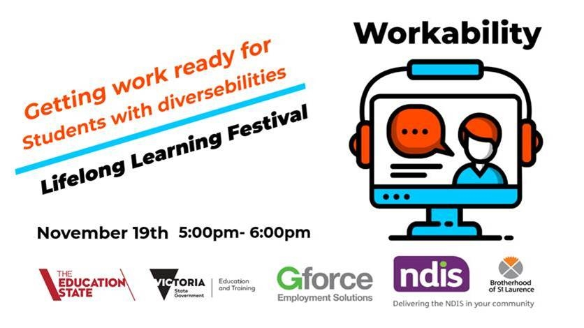 Getting Work Ready Information Session 19th November